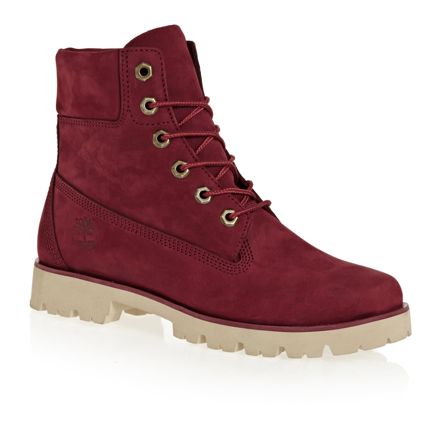 Timberland Heritage Lite 6in Bo Pomegranate Ladies Boots