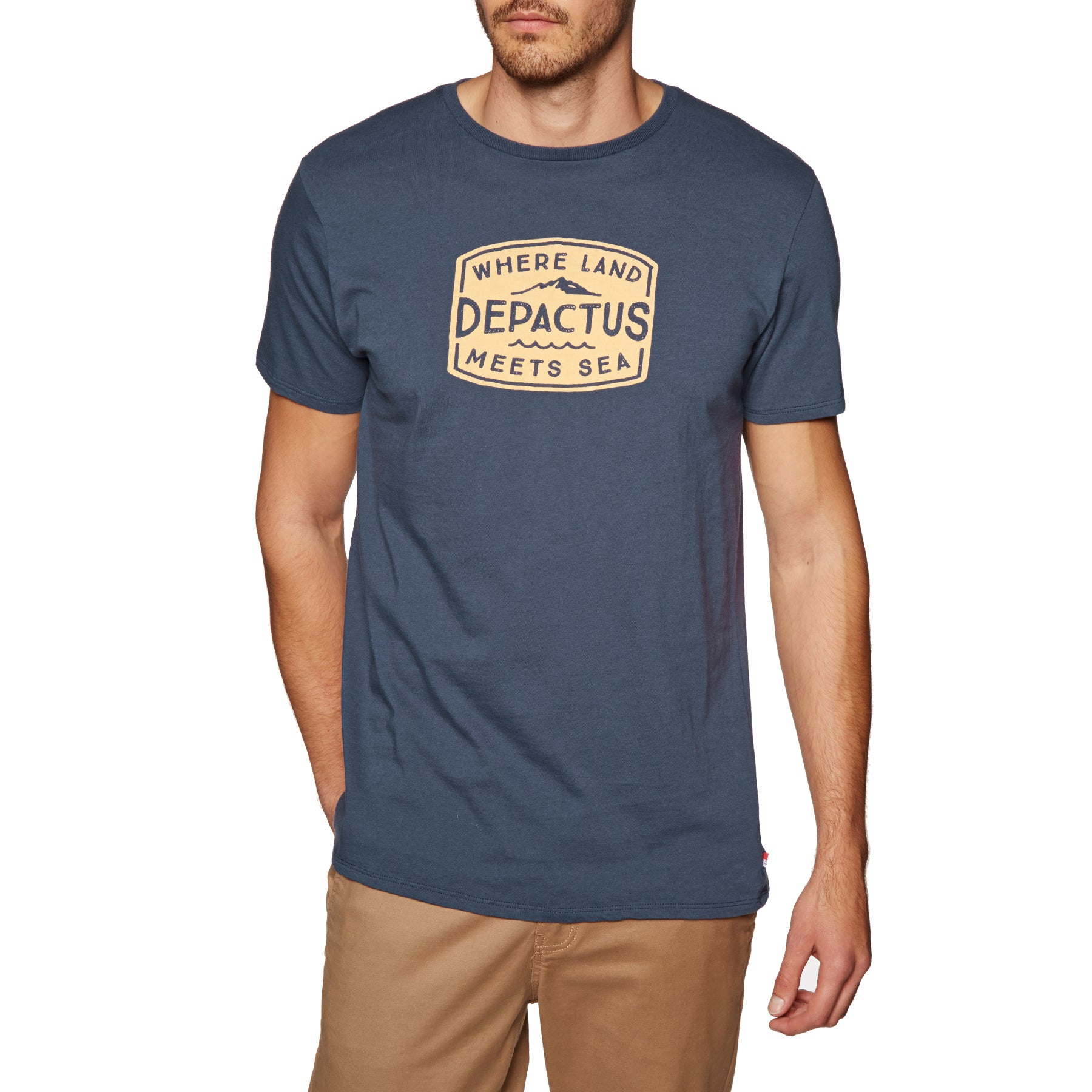 Depactus Roadstead Mens Short Sleeve T-Shirt