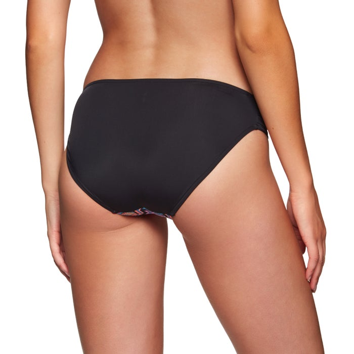 Seafolly Sun Temple Ruched Side Retro Ladies Bikini Bottoms