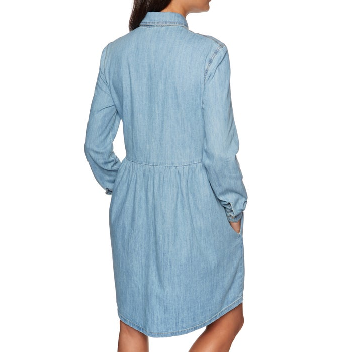 SWELL Chambray Shirt Dress