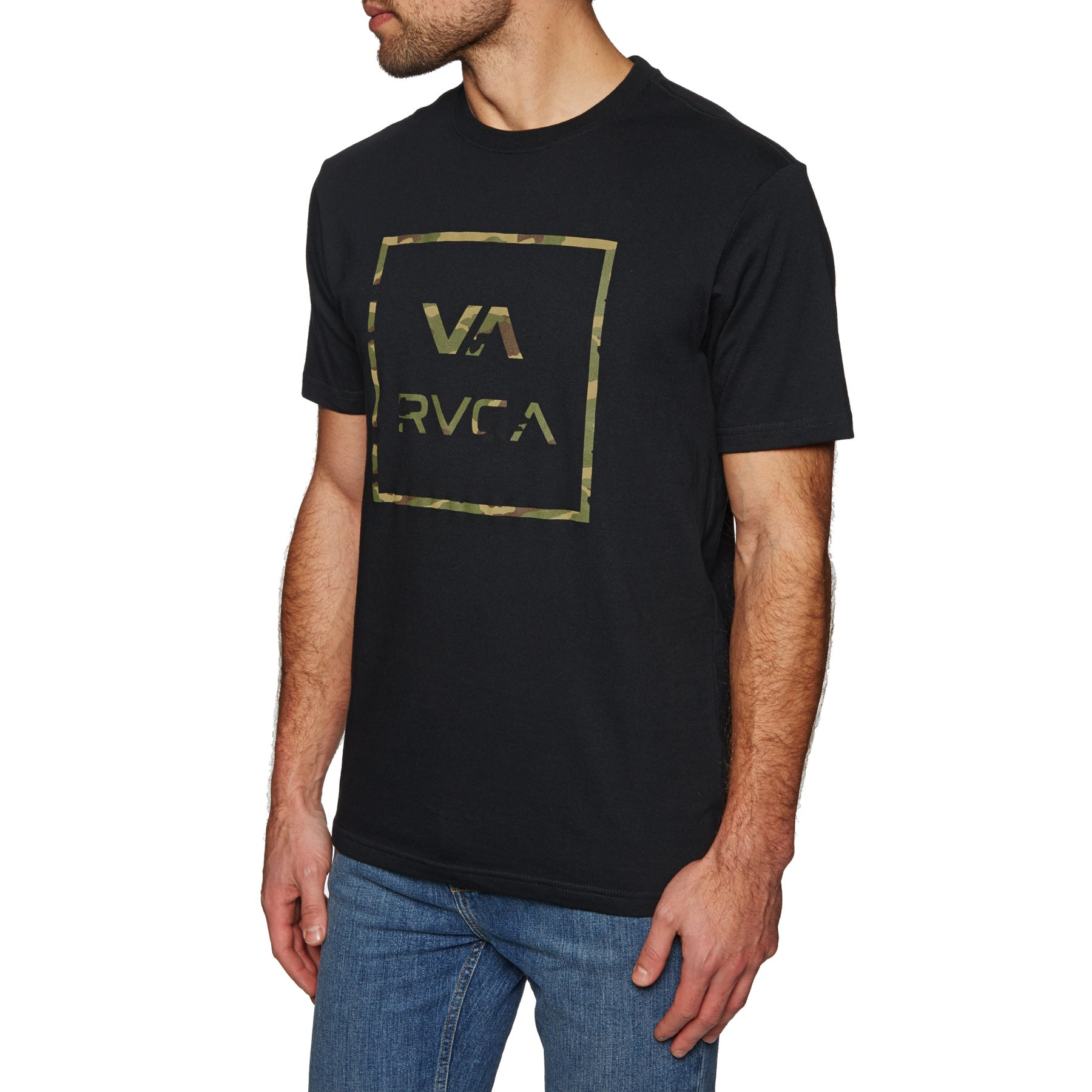 RVCA Fill All The Way Short Sleeve T-Shirt