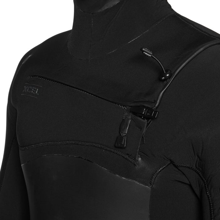 Xcel Infiniti 5/4mm 2019 Chest Zip Hooded Wetsuit