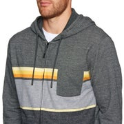 Rip Curl Yarn Dyed Stripe Hz Fleece Zip Hoody