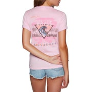 Billabong Roller Rink Ringer Ladies Short Sleeve T-Shirt