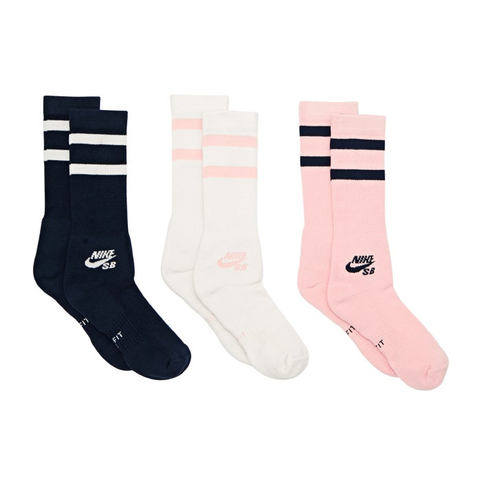 Nike SB 3 Pack Crew Sports Socks