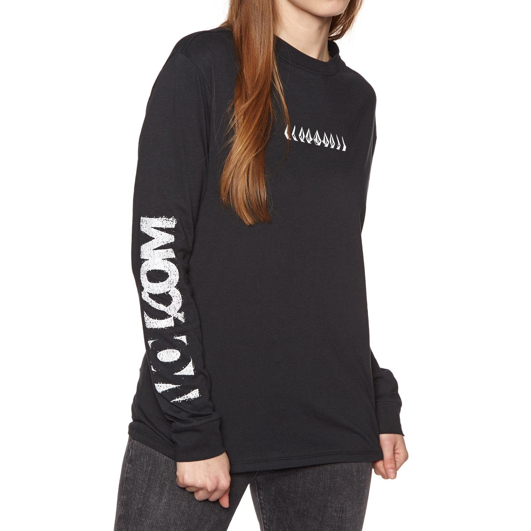 Volcom Simply Stoned Ladies Long Sleeve T-Shirt