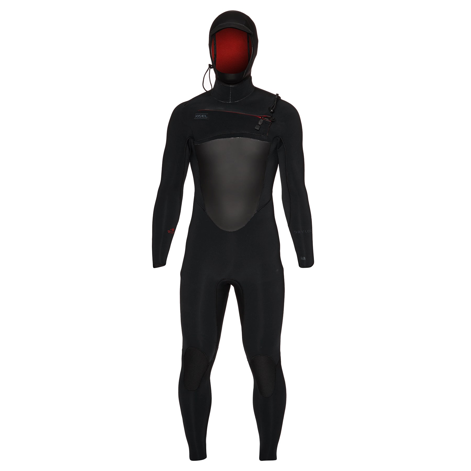 Xcel Drylock 5/4mm 2019 Chest Zip Hooded Wetsuit