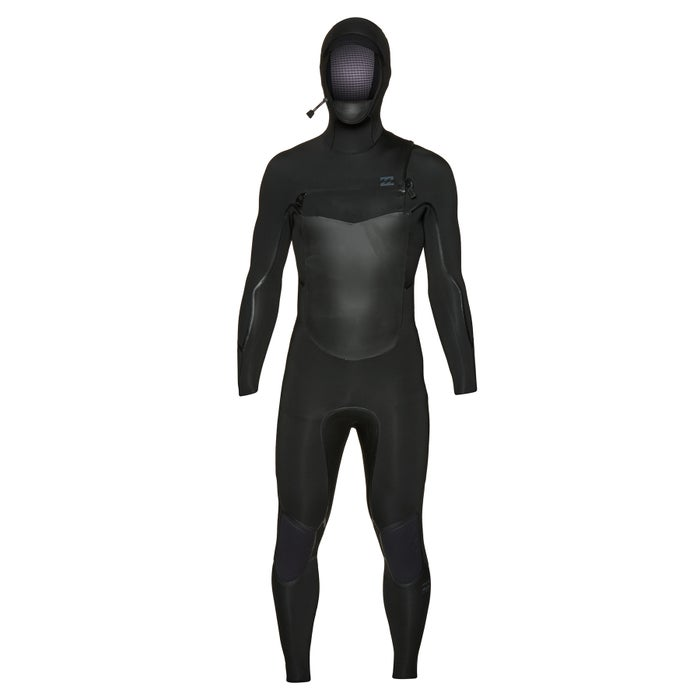 Billabong Furnace Absolute X 5/4mm 2019 Chest Zip Hooded Wetsuit