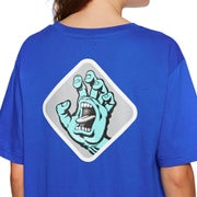 Santa Cruz Screaming Hand Badge Ladies Short Sleeve T-Shirt