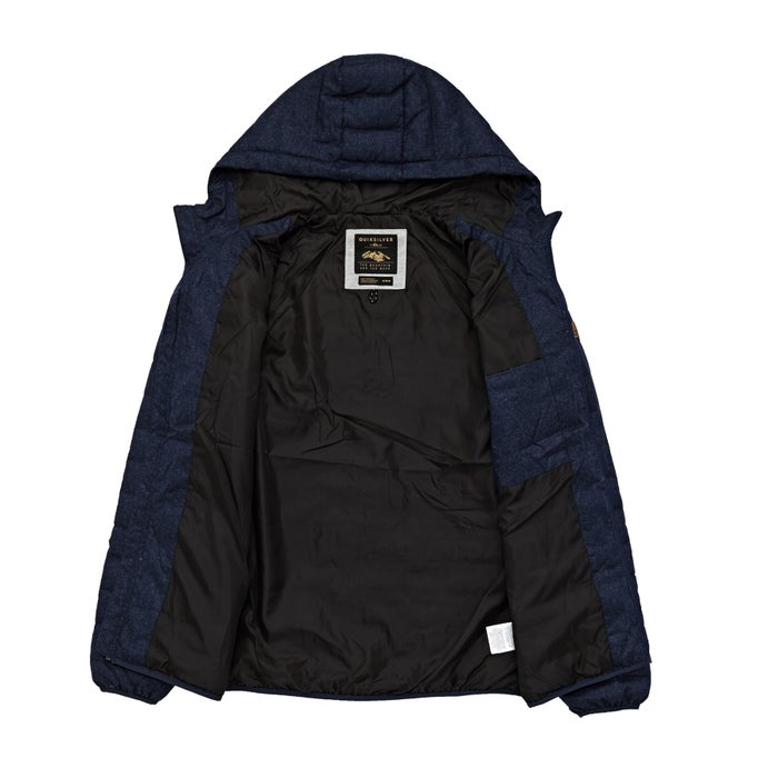 Quiksilver Mens Scaly Wool Hood Jacket