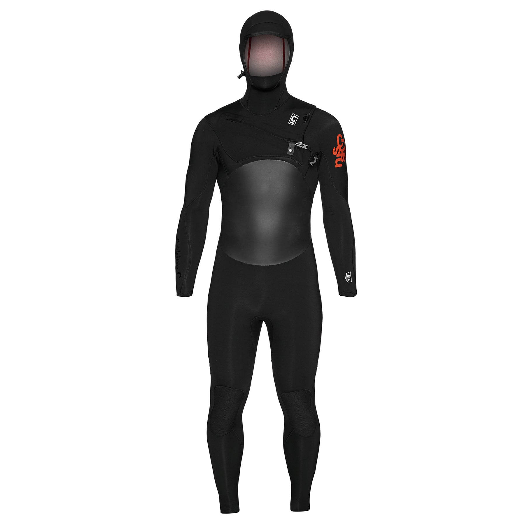 C-Skins Wired 5/4mm 2019 Chest Zip Hooded Wetsuit