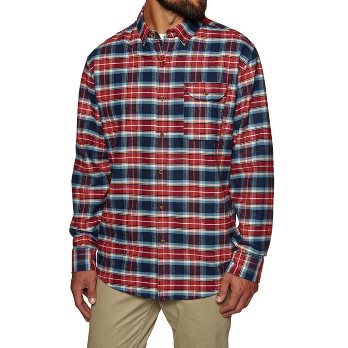 Vissla Central Coast Flannel-nvy Shirt