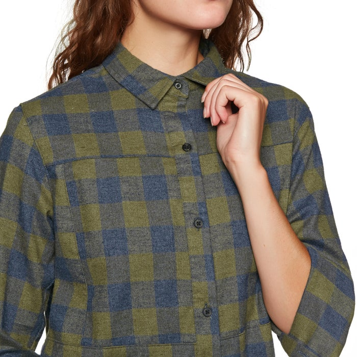 Hurley Wilson Flannel Ladies Shirt