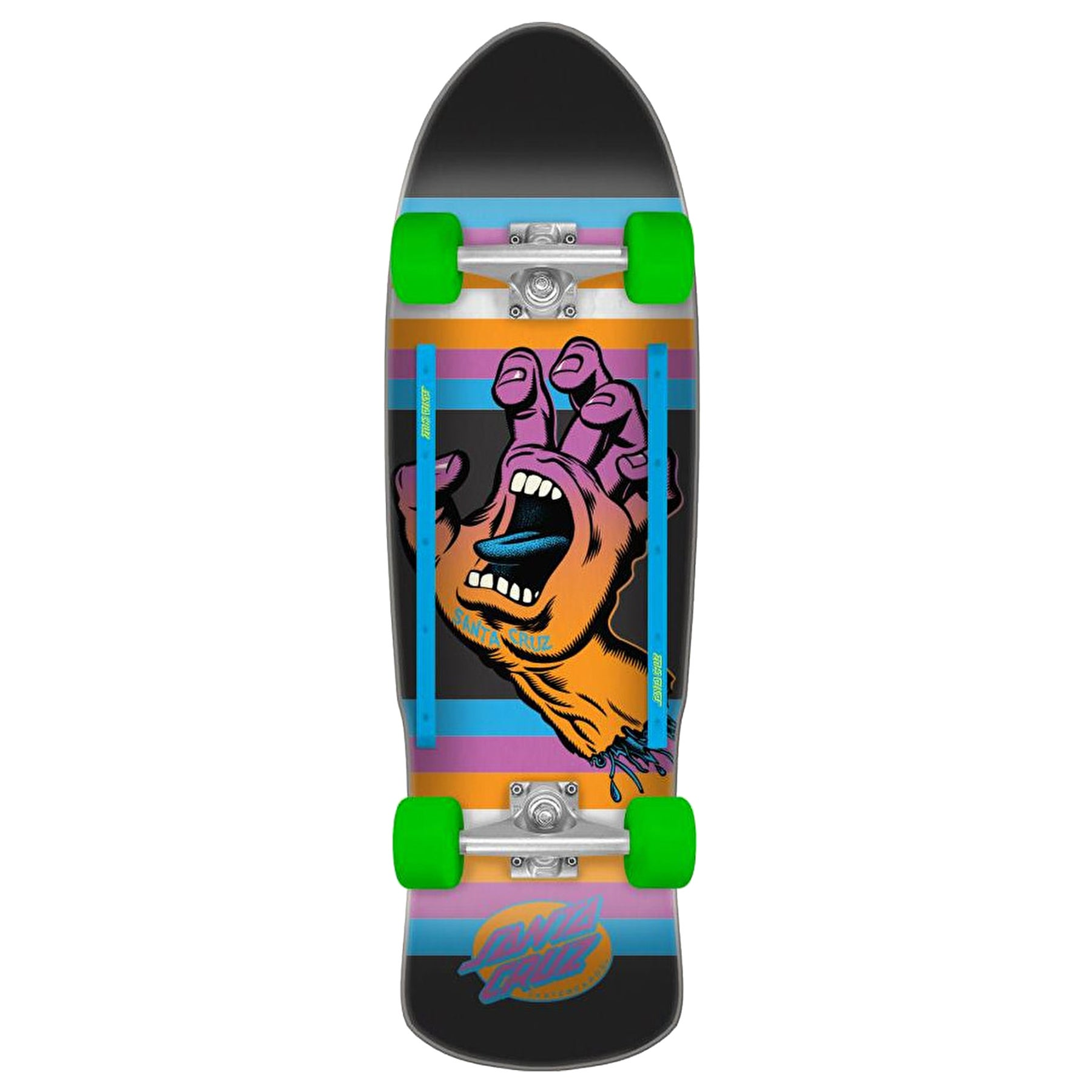 Santa Cruz Screaming Hand Neon Age 31.88 Inch Cruiser
