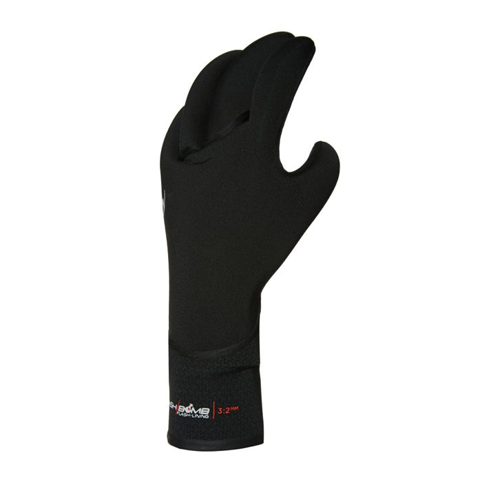 Rip Curl Flashbomb 3/2 5 Finger Gl Wetsuit Gloves