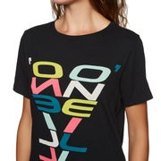 O Neill Re-issue Ladies Short Sleeve T-Shirt
