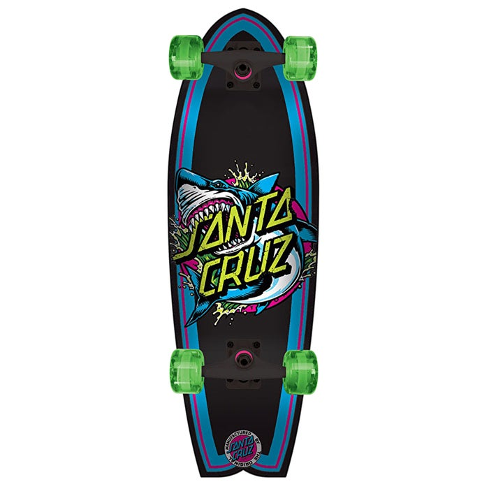 Santa Cruz Shark Dot Landshark 27.7 Inch Cruiser