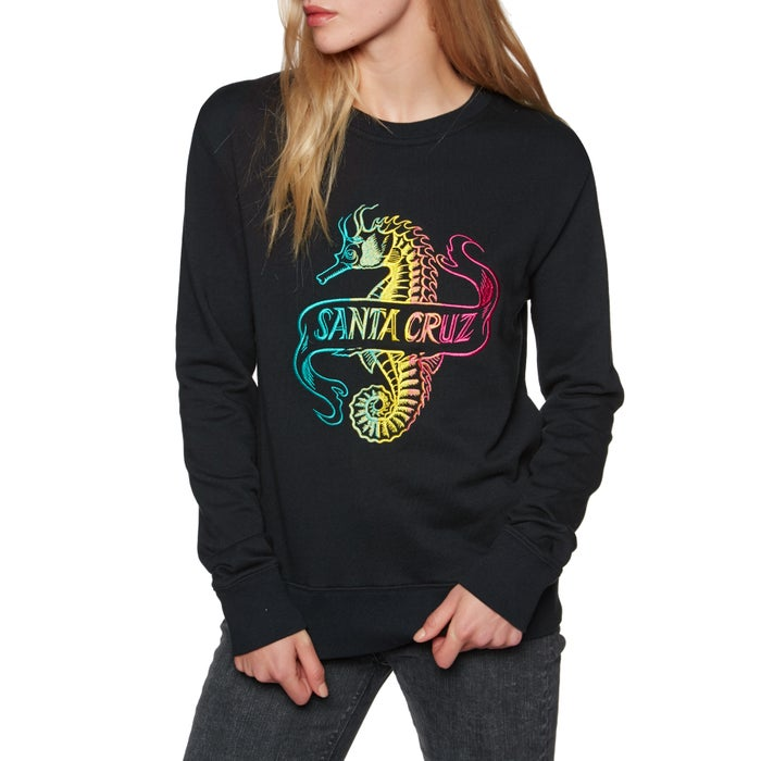 Santa Cruz Seahorse Crew Ladies Sweater