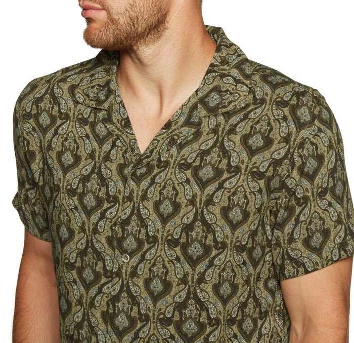 Rhythm Peyote Ss Shirt Short Sleeve Shirt