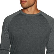 Billabong Long Sleeve Woven Crew Mens Top