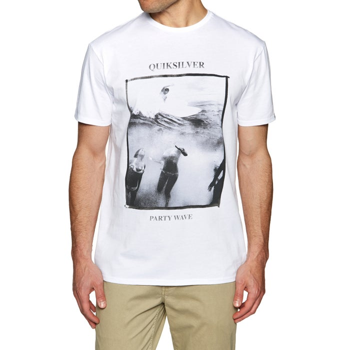 Quiksilver Wave Party Mens Short Sleeve T-Shirt