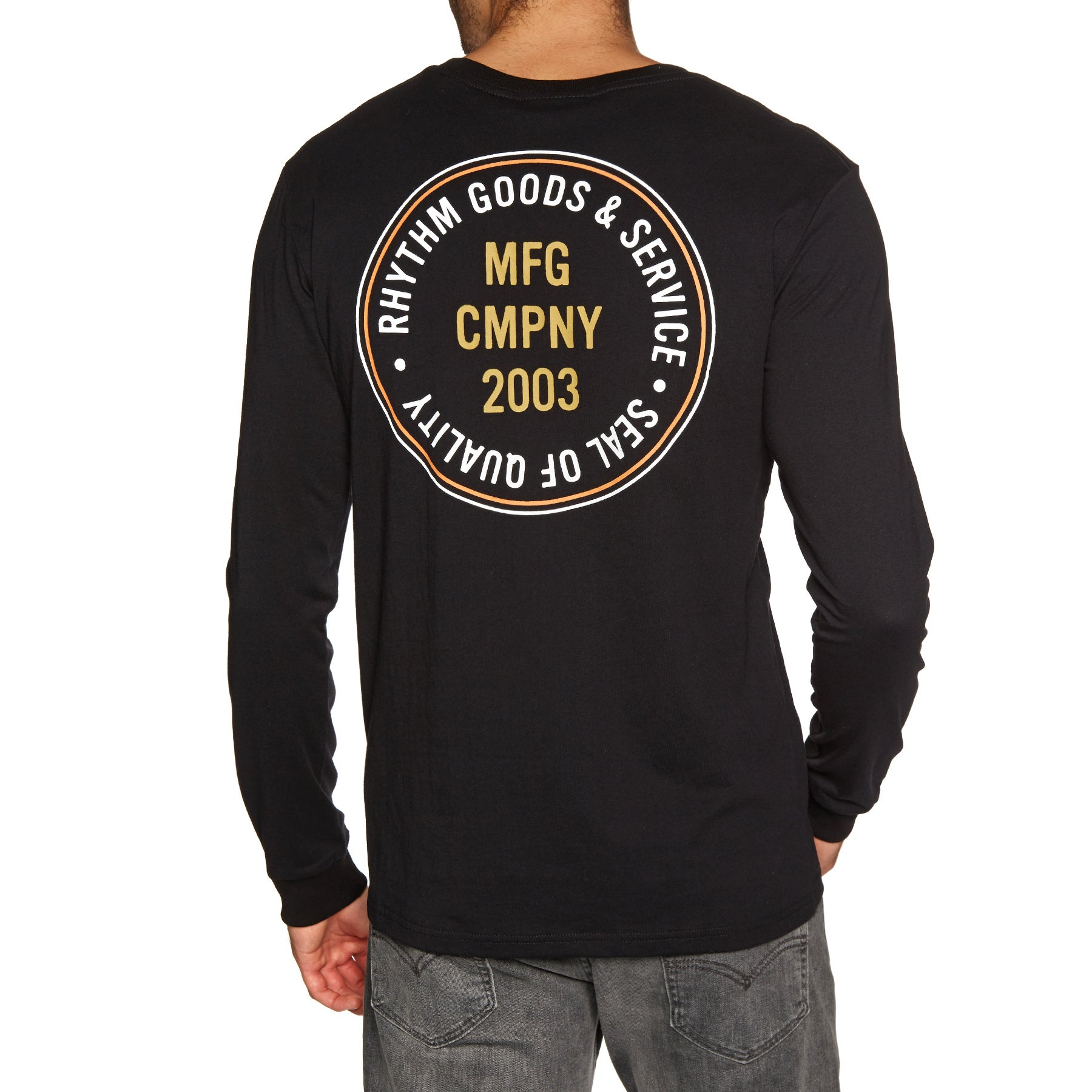Rhythm Stamp Ls T-shirt Long Sleeve T-Shirt