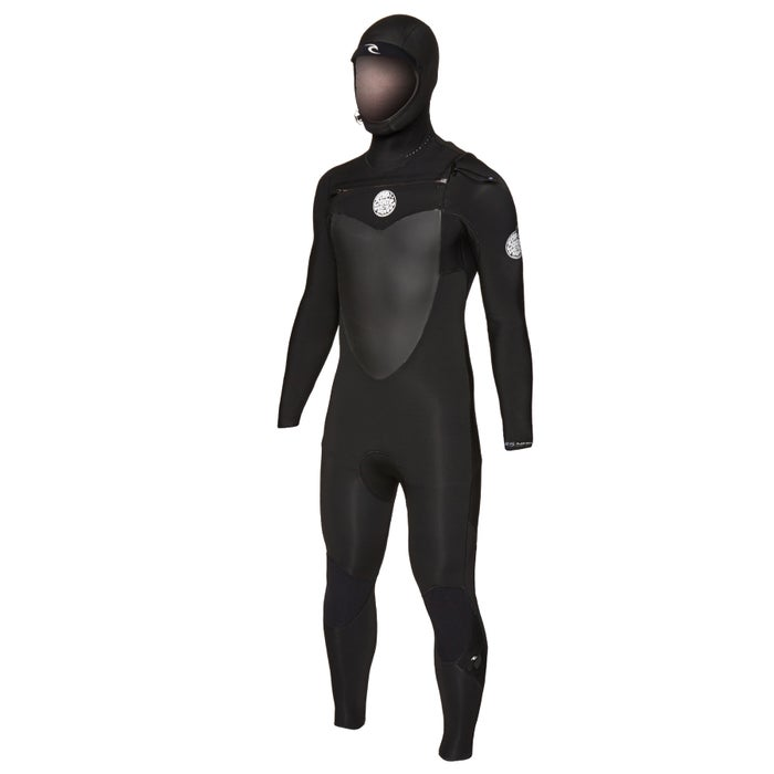 Rip Curl Flashbomb 4/3mm 2019 Chest Zip Hooded Wetsuit