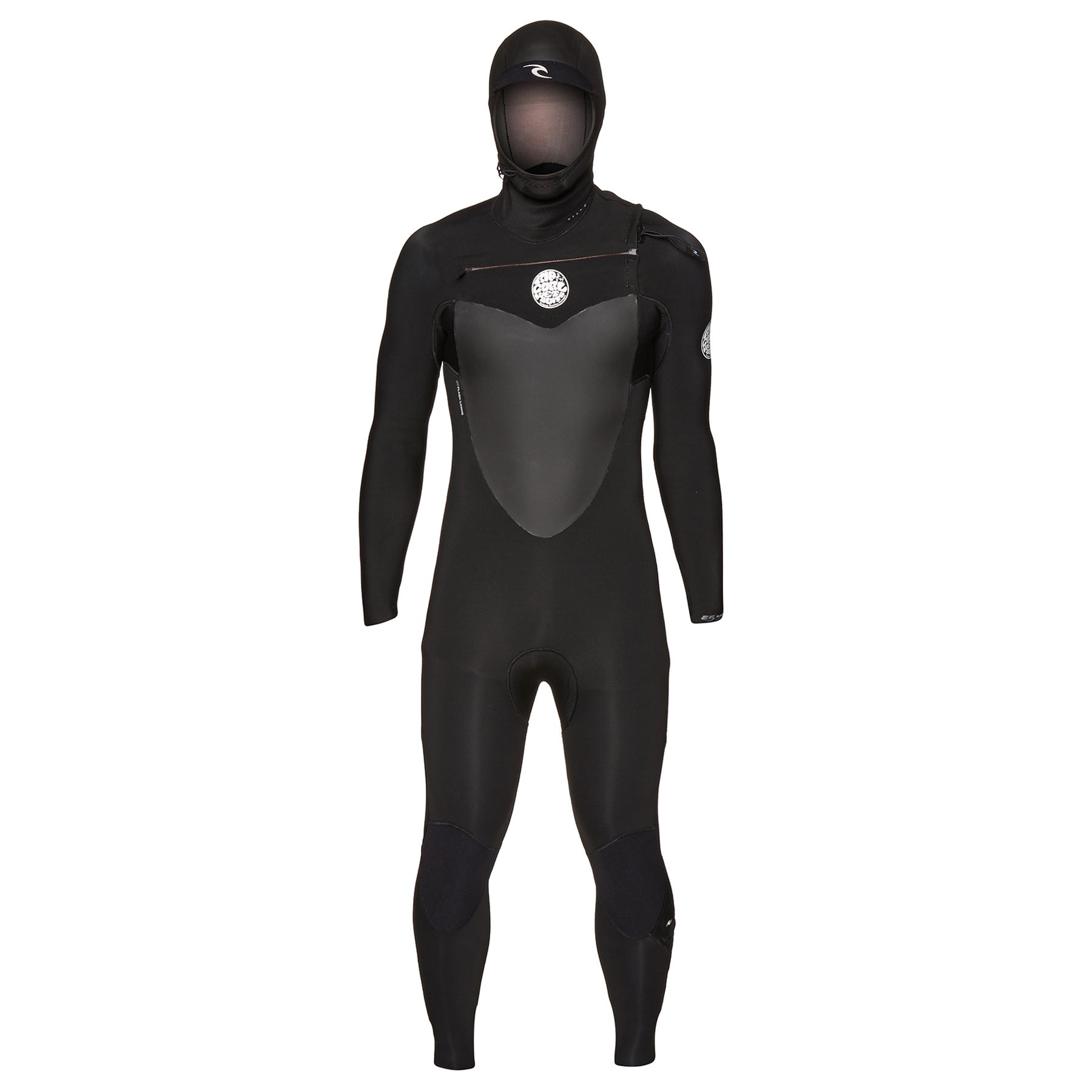 Rip Curl Flashbomb 5/4mm 2019 Chest Zip Hooded Wetsuit