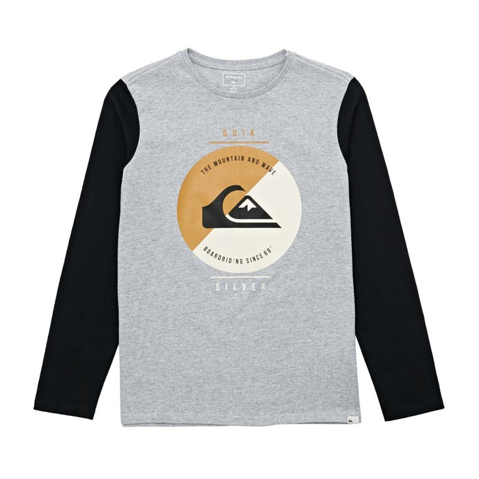 9c11d211a560 Quiksilver Shook Up Kids Long Sleeve T-Shirt from Magicseaweed