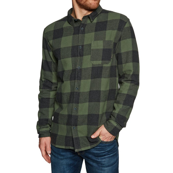 Quiksilver Motherfly Flannel Mens Shirt
