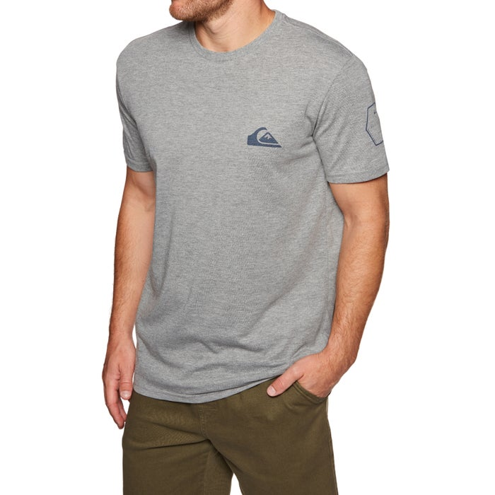 Quiksilver Solid Left Mens Short Sleeve T-Shirt
