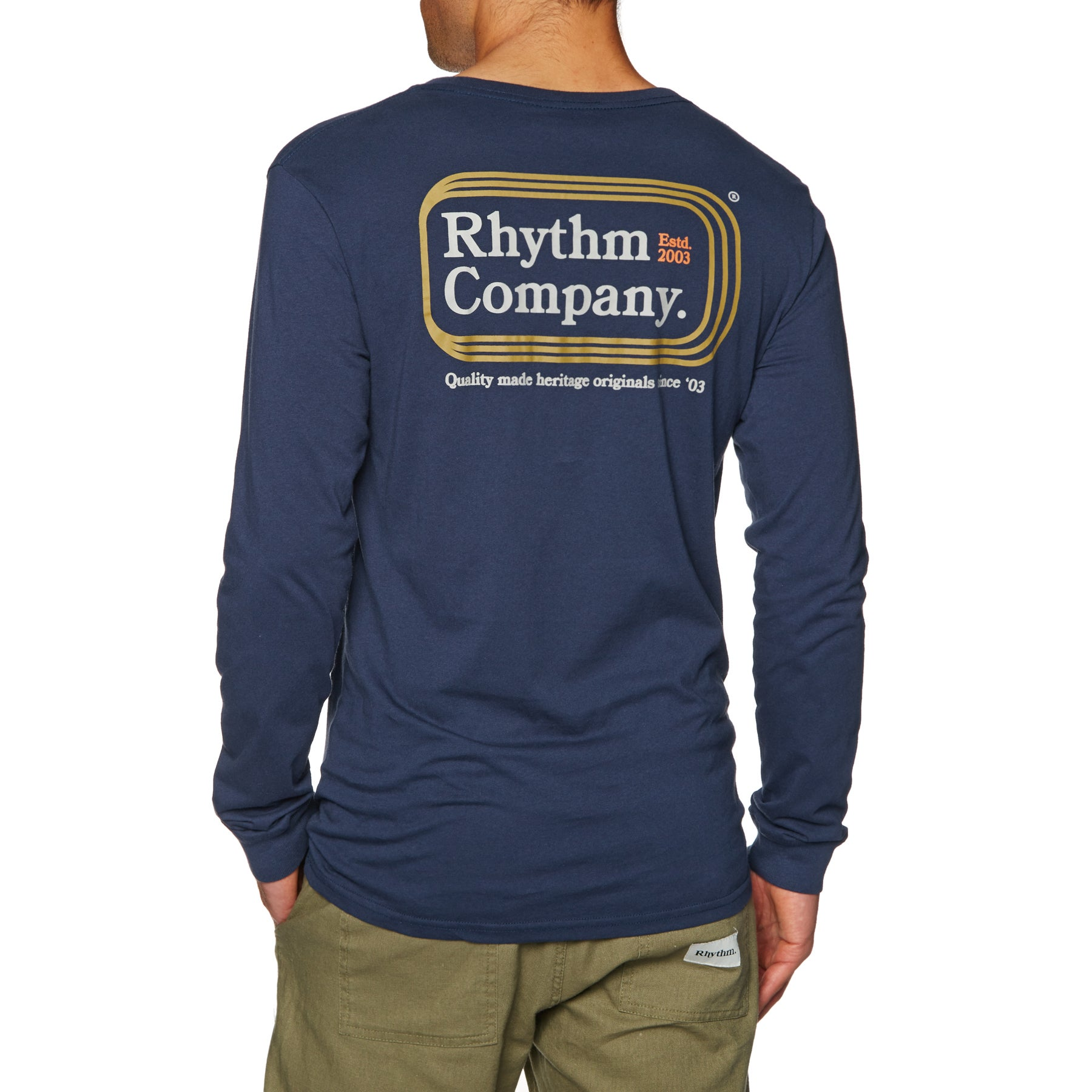 Rhythm Mack Long Sleeve T-Shirt