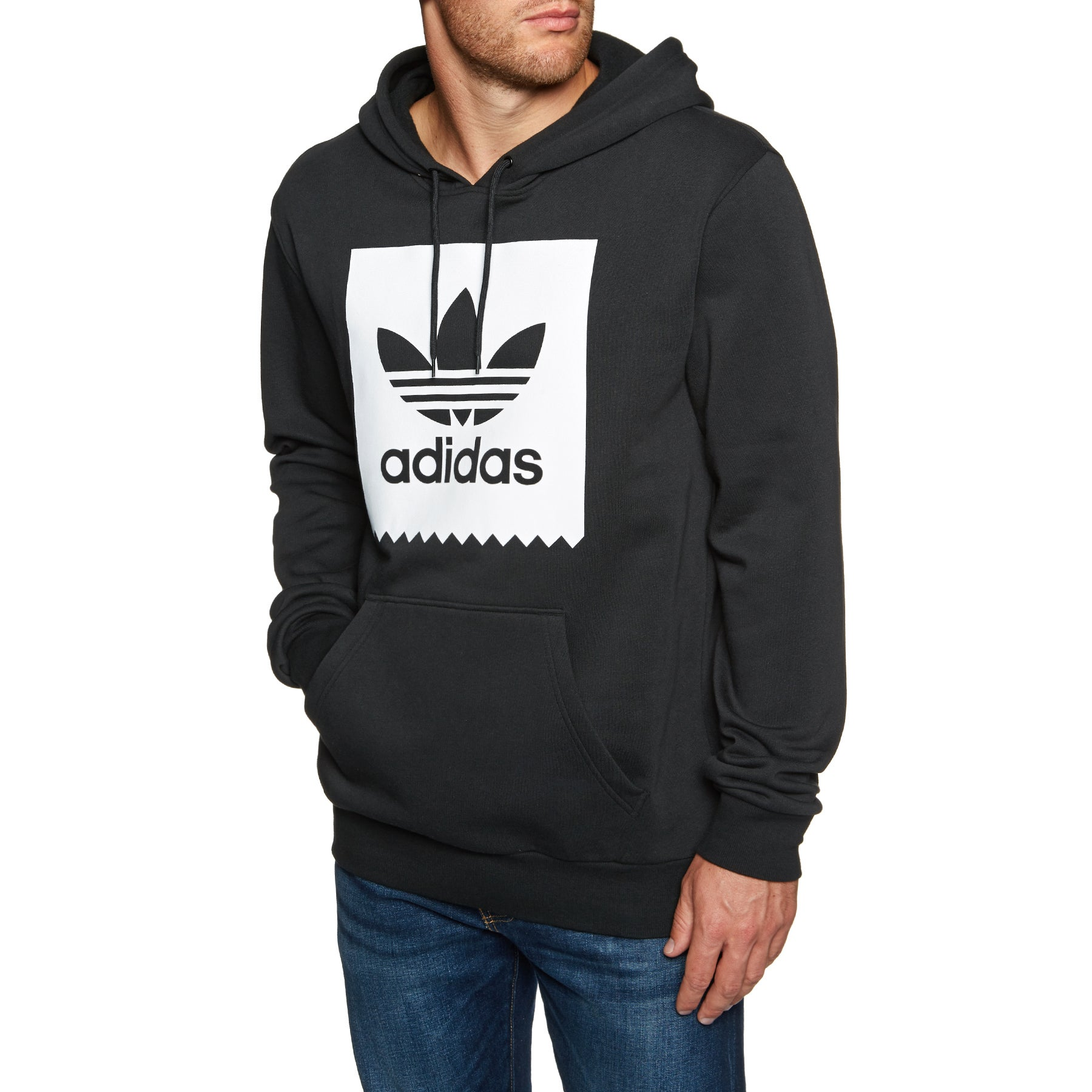 Adidas Solid BB Pullover Hoody