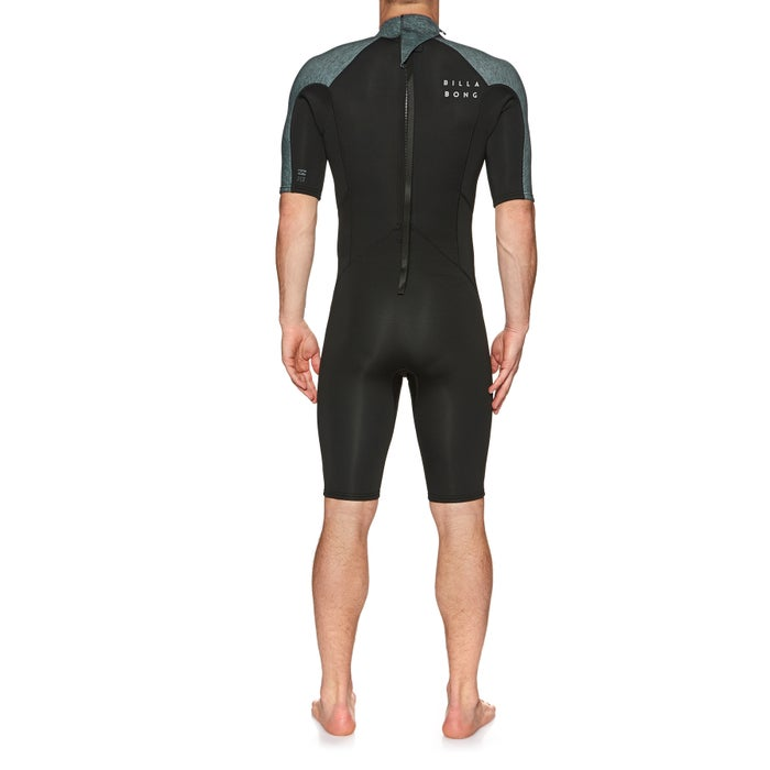 Billabong Absolute 2/2mm 2019 Back Zip Short Sleeved Shorty Mens Wetsuit