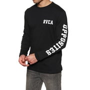 RVCA Floral Snake Long Sleeve T-Shirt