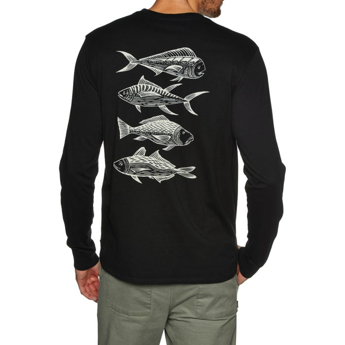 Depactus Pelagic Mens Long Sleeve T-Shirt