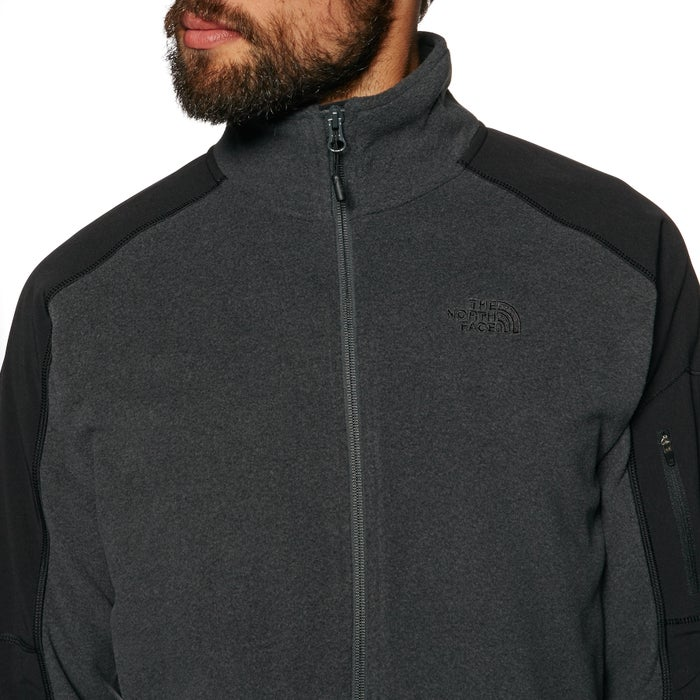 North Face Glacier Delta Full Zip Mens Fleece
