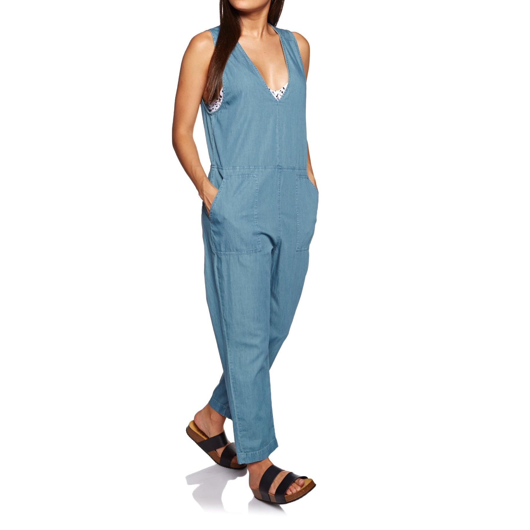 Rhythm Wanderer Ladies Playsuit