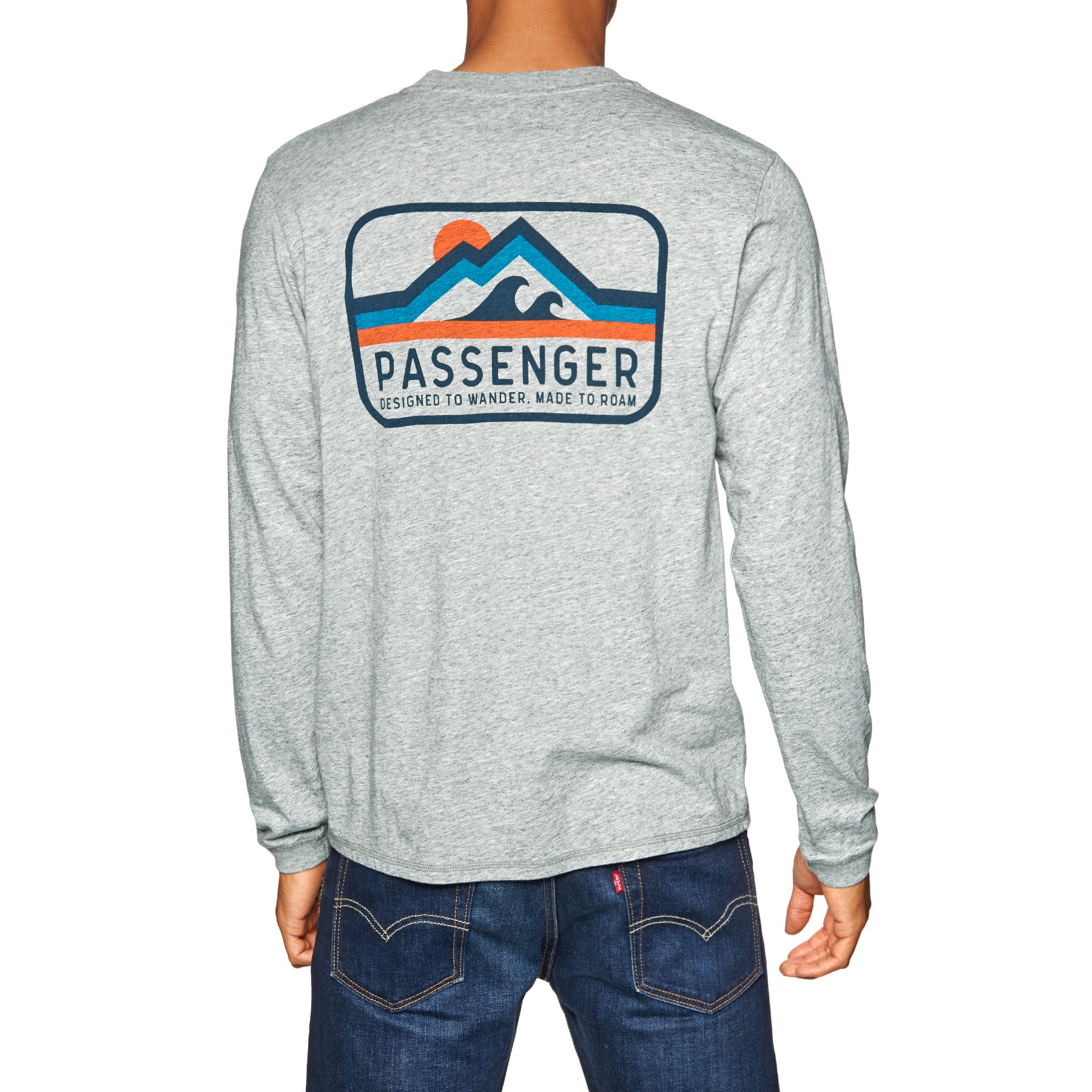 Passenger Clothing Peaked Long Sleeve T-Shirt