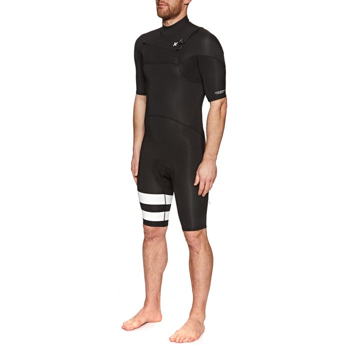 Hurley Advantage Plus 2mm 2019 Chest Zip Shorty Mens Wetsuit