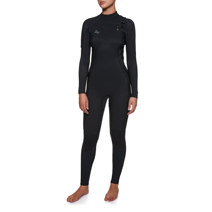 O Neill Womens Hyperfreak 5/4mm Chest Zip Wetsuit