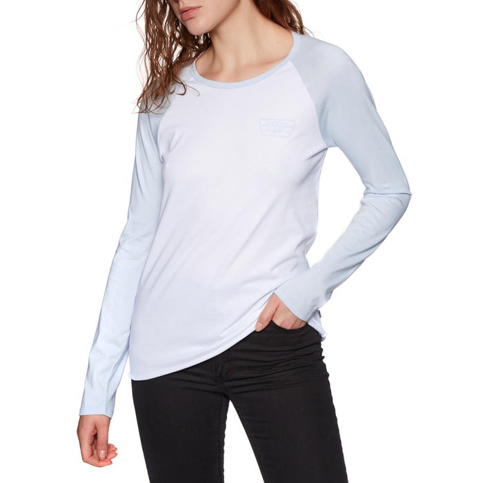 Vans Full Patch Raglan Ladies Long Sleeve T-Shirt