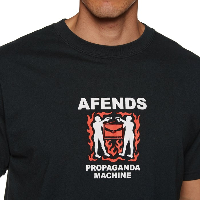 Afends Propaganda Machine Short Sleeve T-Shirt