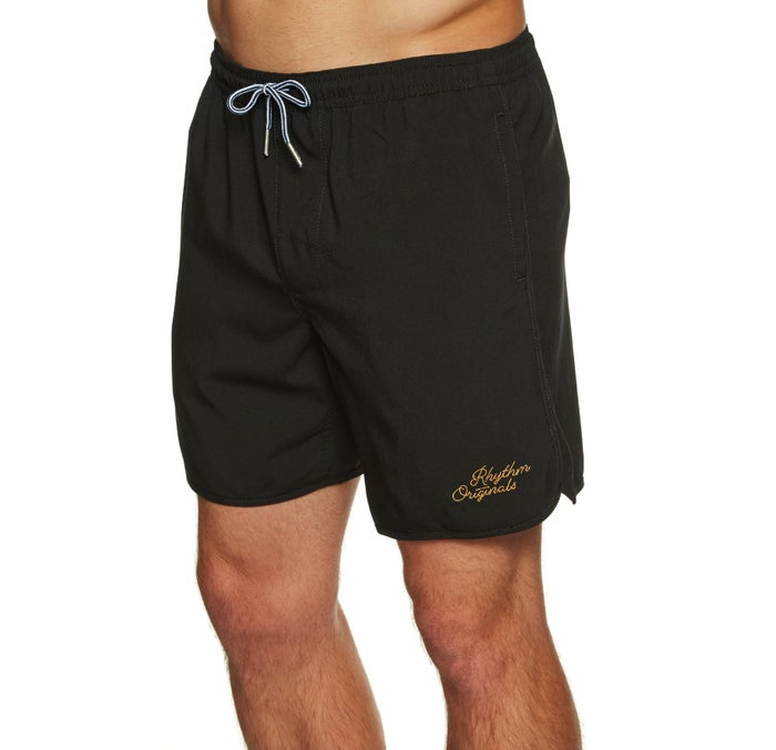 Rhythm Black Boardshorts