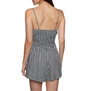Seafolly Midsummer Gingham Ladies Playsuit