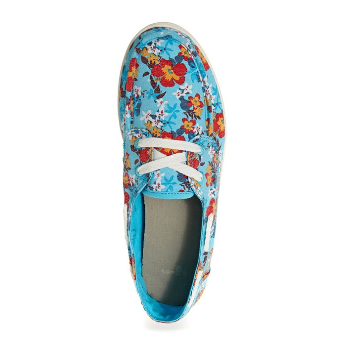 Sanuk W Pair O Sail Prints Ladies Slip On Shoes