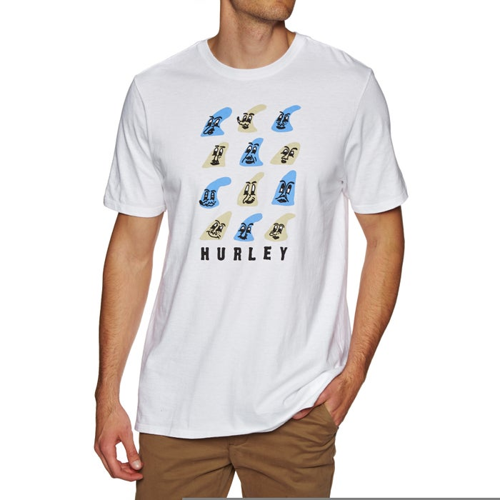 Hurley Core Fin Face Short Sleeve T-Shirt
