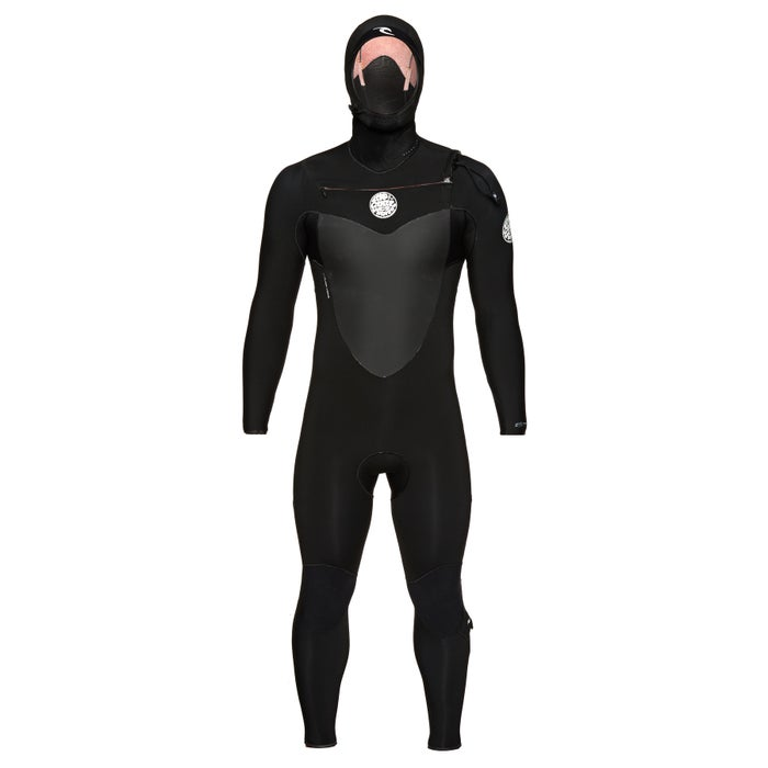 Rip Curl Flashbomb 6/4mm 2018 Chest Zip Hooded Wetsuit