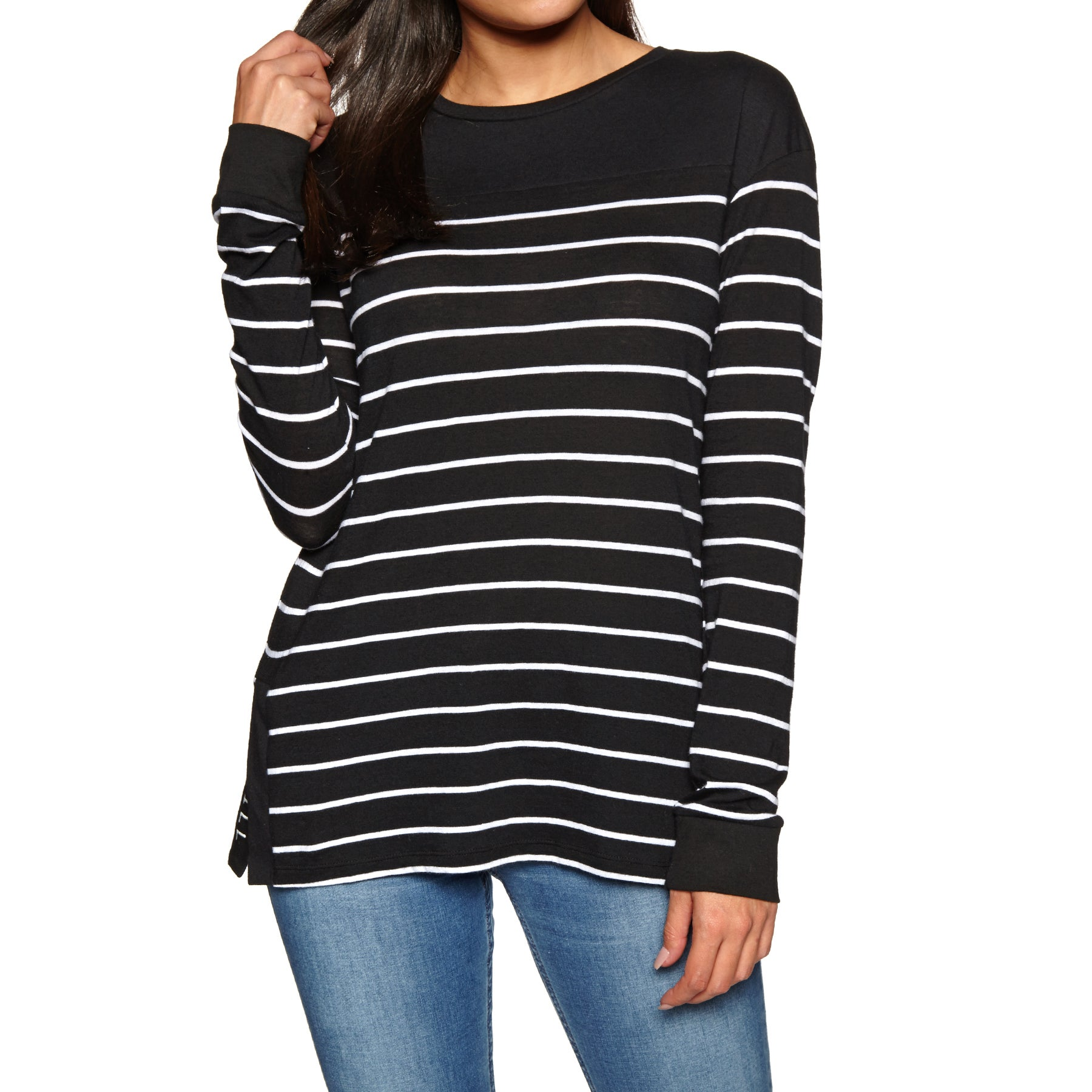 O Neill Stripe Relaxed Ladies Top