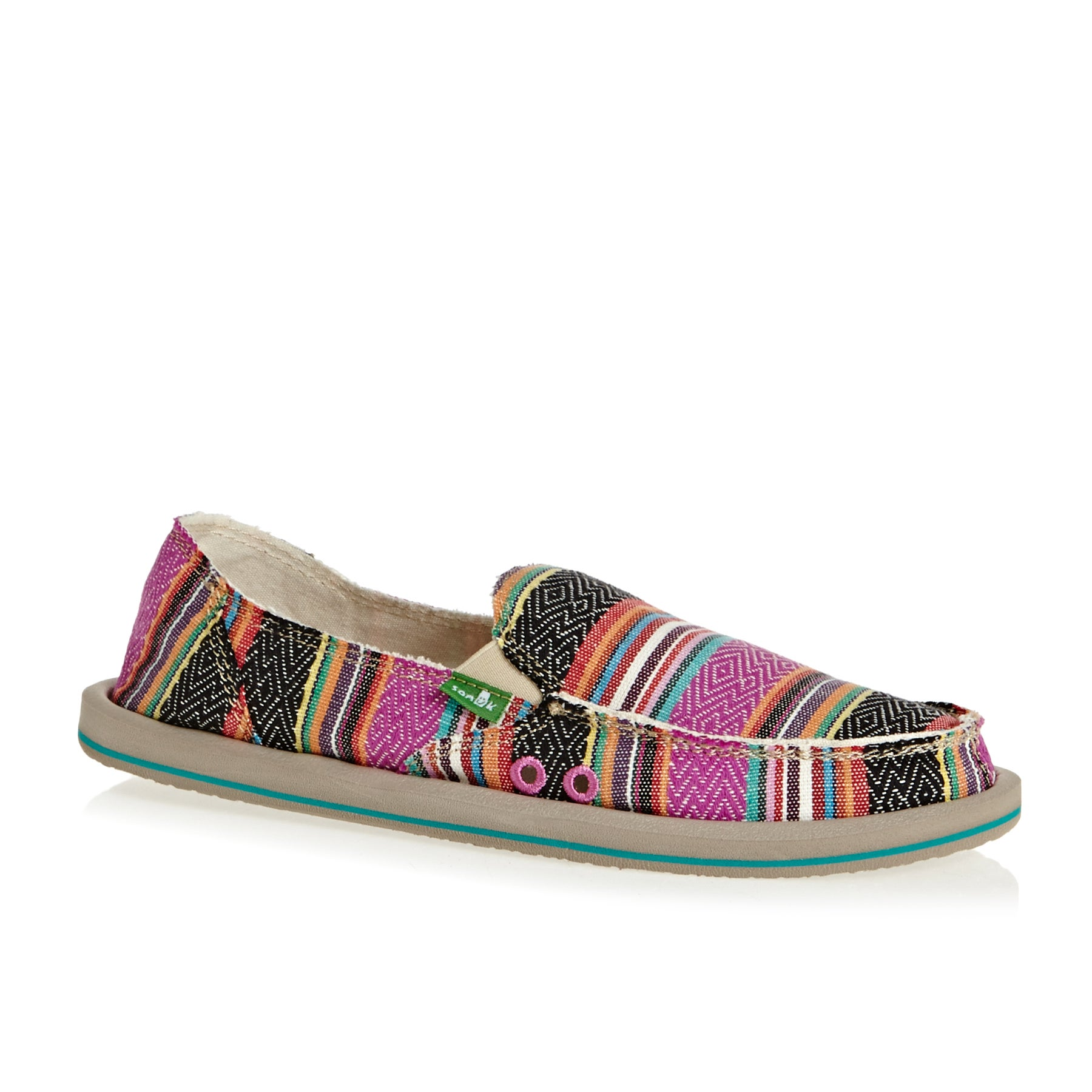 Sanuk W Donna Ladies Slip On Shoes